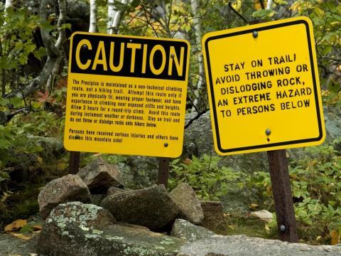 Precipice Trail.