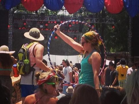 Professional grade hula hoop