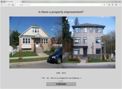 Google Street View  para detectar la gentrificación