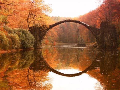 Rakotzbrücke.