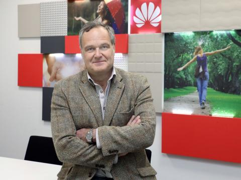 Ramiro Larragán, responsable de Marketing de Huawei Consumo España