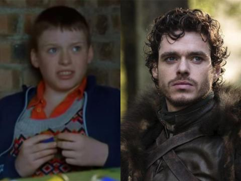 Richard Madden played the handsome Robb Stark, but he got his start as a child actor in 1999.