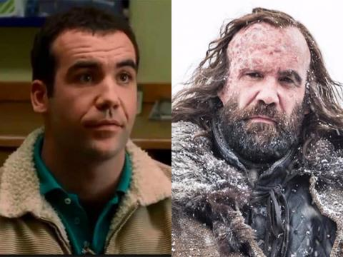 "Rory McCann plays a foreboding Sandor ""the Hound"" Clegane, but his first major role was in the comedy ""The Book Group."""