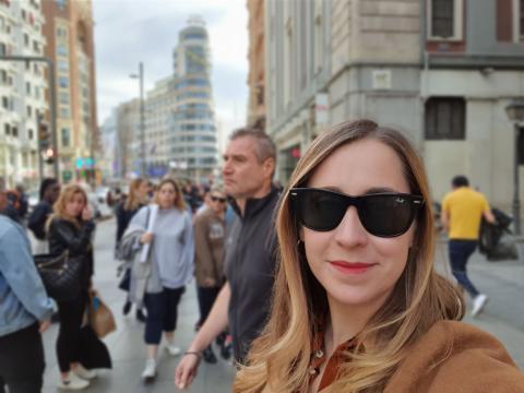 Samsung Galaxy S10 Plus cámara selfie modo retrato