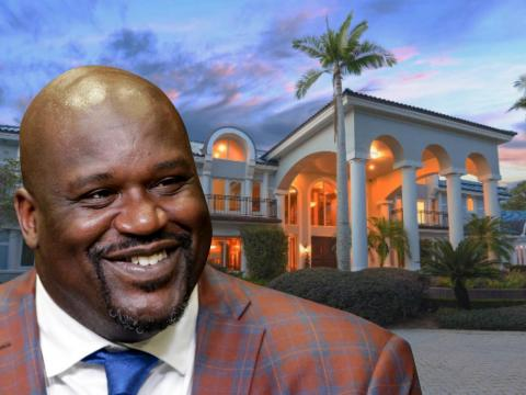 Williams isn't the only sports star living in a relatively affordable home. Shaquille O'Neal's $21.9 million Florida home, which sits on 700 feet of lakefront property in a gated Orlando community, was on the market in January.