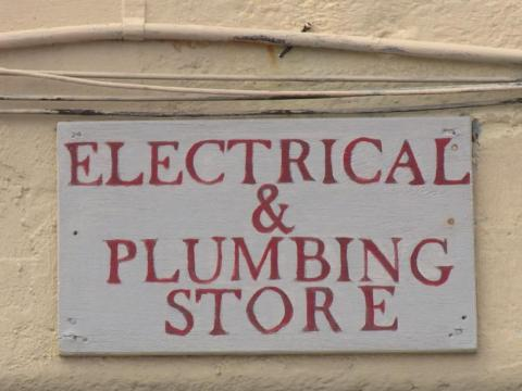 ... several handy stores ...