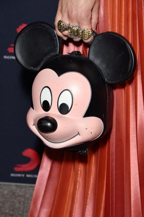 La cantante Paloma Faith apareció con el bolso de Gucci en la fiesta de los Premios BRIT en febrero.