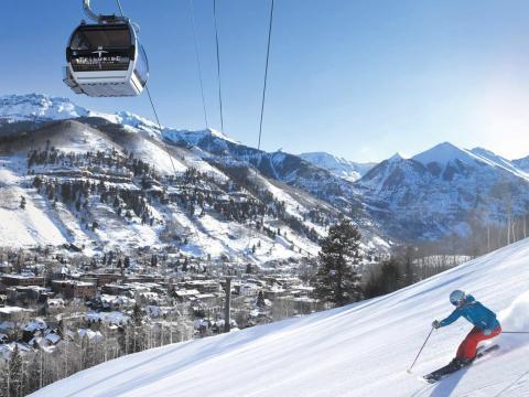 ... ski resorts and winter destinations ...