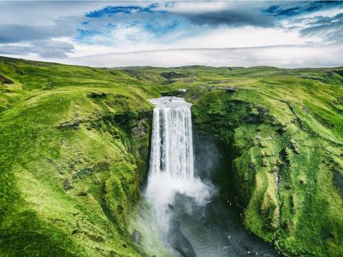 Skógafoss, Skógar, Islandia