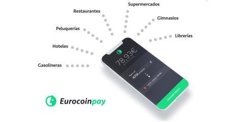 Aplicación para el móvil de Eurocoinpay