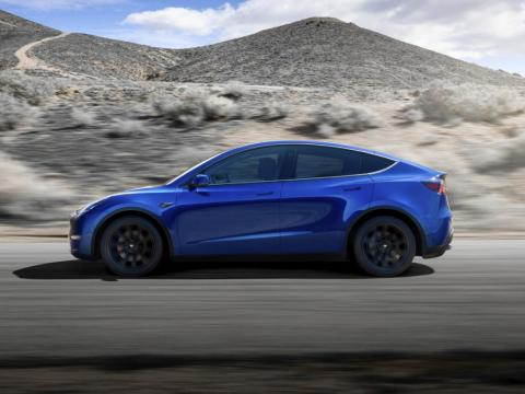 Tesla says production for the Model Y will begin in 2020.