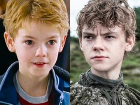 "Thomas Brodie-Sangster made his feature film debut in ""Love Actually"" and is known for his former role as Jojen Reed."