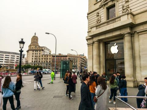 Apple Store de Paseo de Gracia (Barcelona)