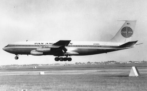 While the Comet was dealing with its troubles, it was overtaken by the Boeing 707 and...