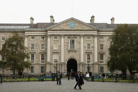 El Trinity College de Dublín es una joya universitaria.