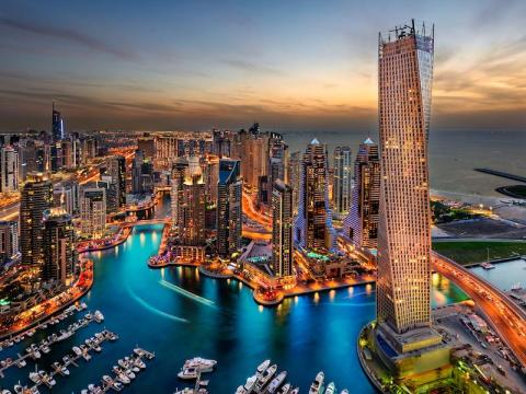 #10: Dubai, United Arab Emirates, is a city unlike anywhere else on the planet.