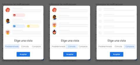 Vista nuevo Gmail
