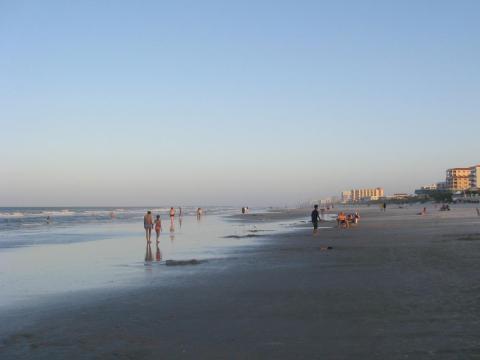 New Smyrna Beach in Volusia County.