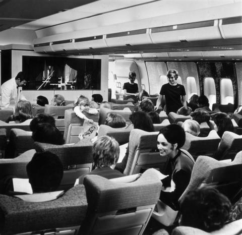 The widebodies delivered an economy-class experience, unlike anything that had come before.