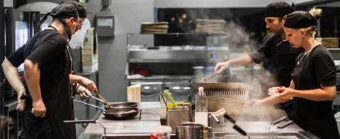 Cocina gestionada por Winnow