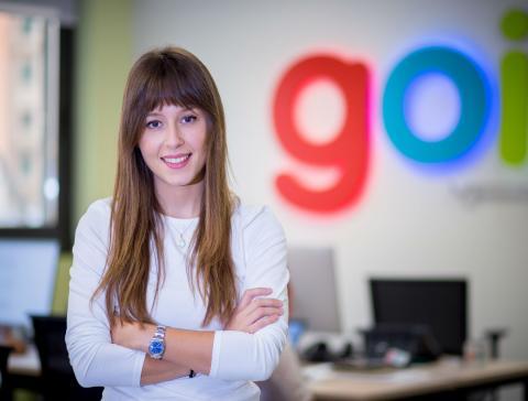Yaiza Canosa es CEO y fundadora de la Startup logística GOI.