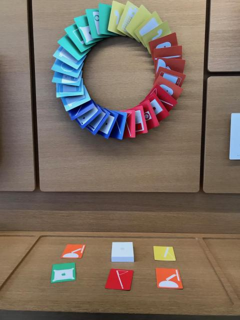 You'll also find this colorful memory card game.