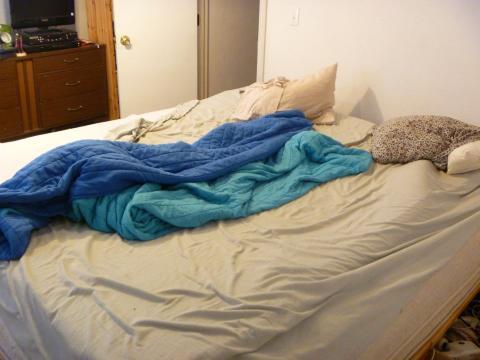 4. No hacer la cama