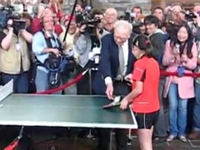 9. Table tennis