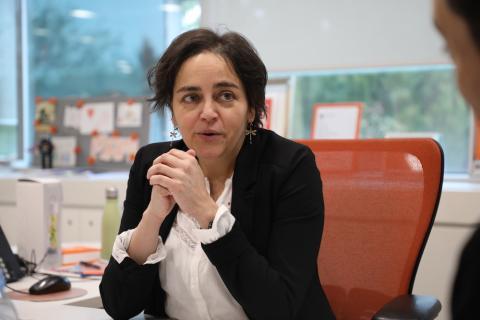 Almudena Román, directora General en ING DIRECT España
