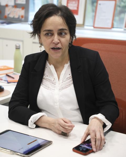 Almudena Román, Directora General de Banca para Particulares de ING España
