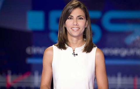 Ana Pastor presentando 59 segundo en Televisión Española