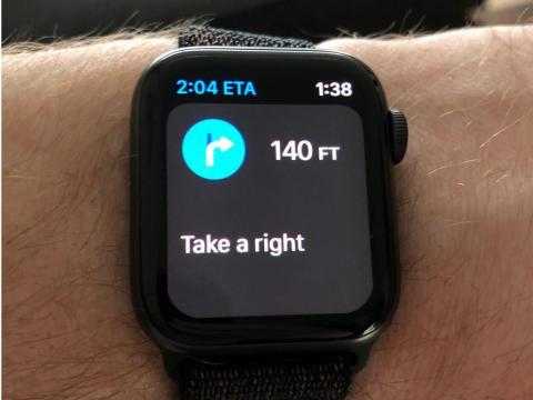 18. The Apple Watch can be your navigator, or co-pilot, if you're driving or going somewhere.