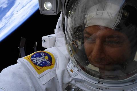 El astronauta David Saint-Jacques.