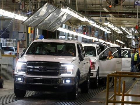 The average car part crosses into Mexico and Canada eight times in production
