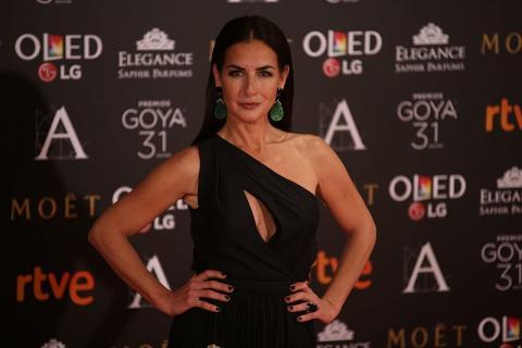 Belén López en los premios Goya de 2017