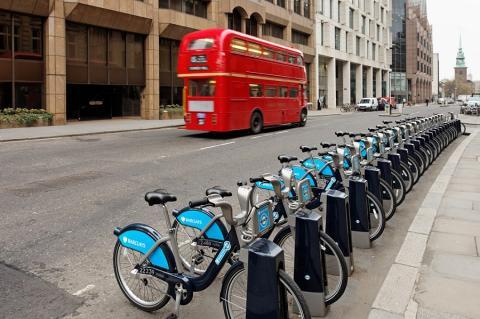 Bicicletas de alquiler en Londres