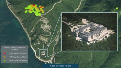 """C4AD believes Putin's summer """"dacha"""" is protected by a permanent GNSS spoofing zone."""