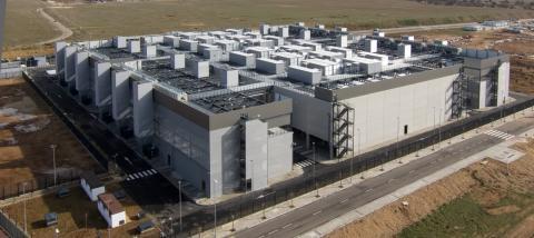 Centro de datos de Telefónica en Alcalá de Henares (Madrid)