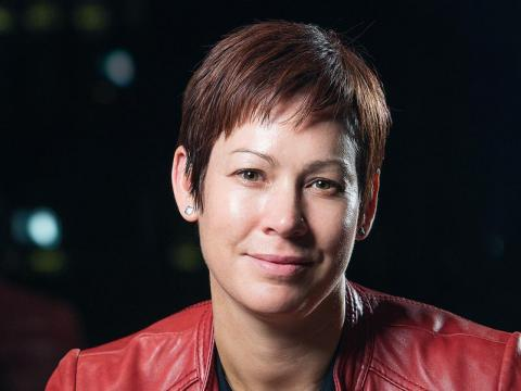 Colleen Aubrey, vicepresidenta global de publicidad en Amazon, se encarga de ganar a las grandes marcas