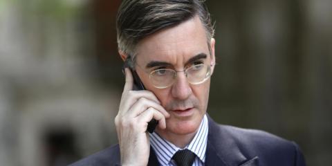 El parlamentario conservador Jacob Rees-Mogg