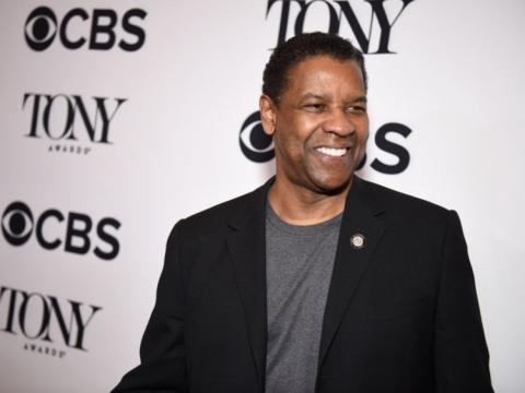Denzel Washington asiste a los premios Tony por ser uno de los nomidados por la prensa en 2018