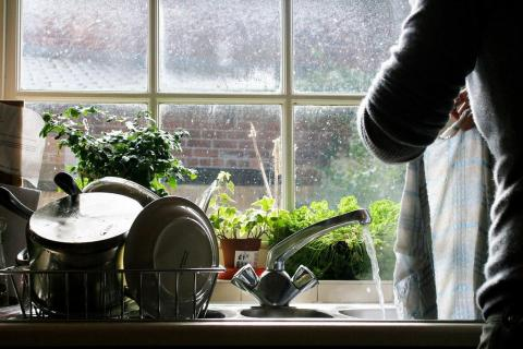 Do chores to break up your day