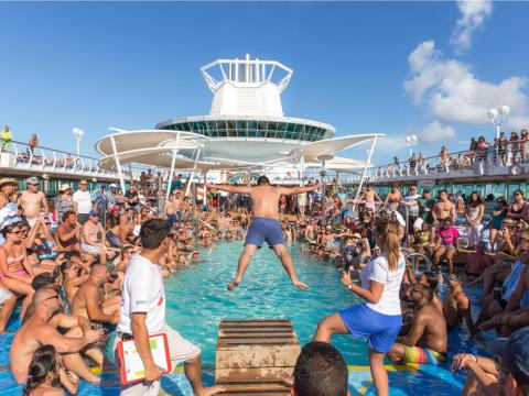 """""""Most of the guests were genuinely nice people, but there were a few who took the 'being American' thing a little too far,"""" a former Seabourn Cruise Line employee said."""