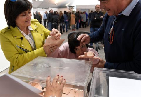 Son las primeras elecciones en las que las personas con discapacidad intelectual ejercen su derecho al voto.