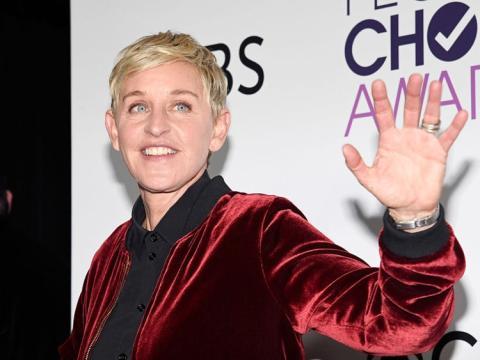 Ellen Degeneres en los People's Choice Awards de 2017