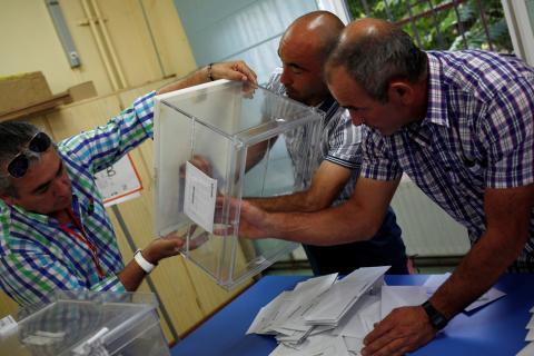 Escrutinio de las Elecciones Generales