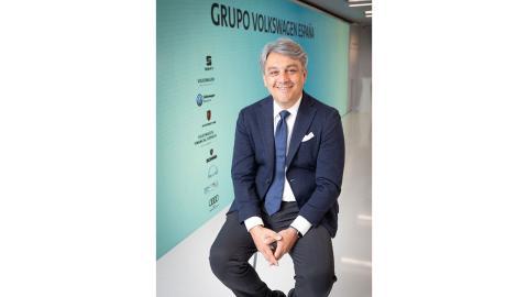 Luca de Meo, CEO de Seat y máximo representante del Grupo VW en España.