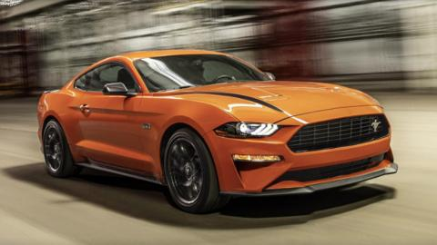 Ford Mustang EcoBoost High Performance Package, dinámica