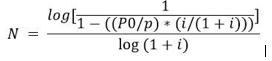 Fórmula para aplicar la regla del 4%
