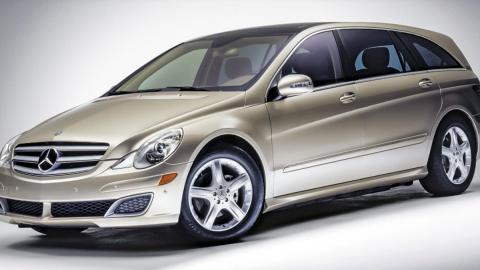 Fracasos ventas coches, Mercedes Clase R